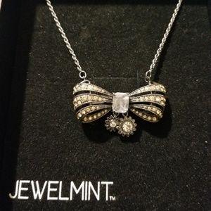 JEWELMINT Vintage Bow Necklace